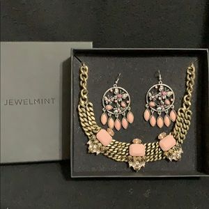 JewelMint Necklace and Earring set-NWOT